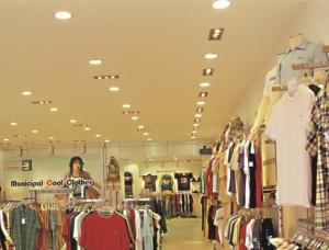 Instalação de Iluminação Comercial